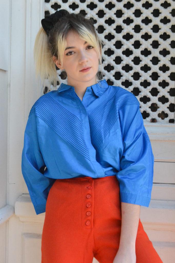 Blue-Madone_vintage_chemise