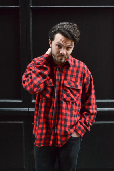Chemise à carreaux vintage 80's TL