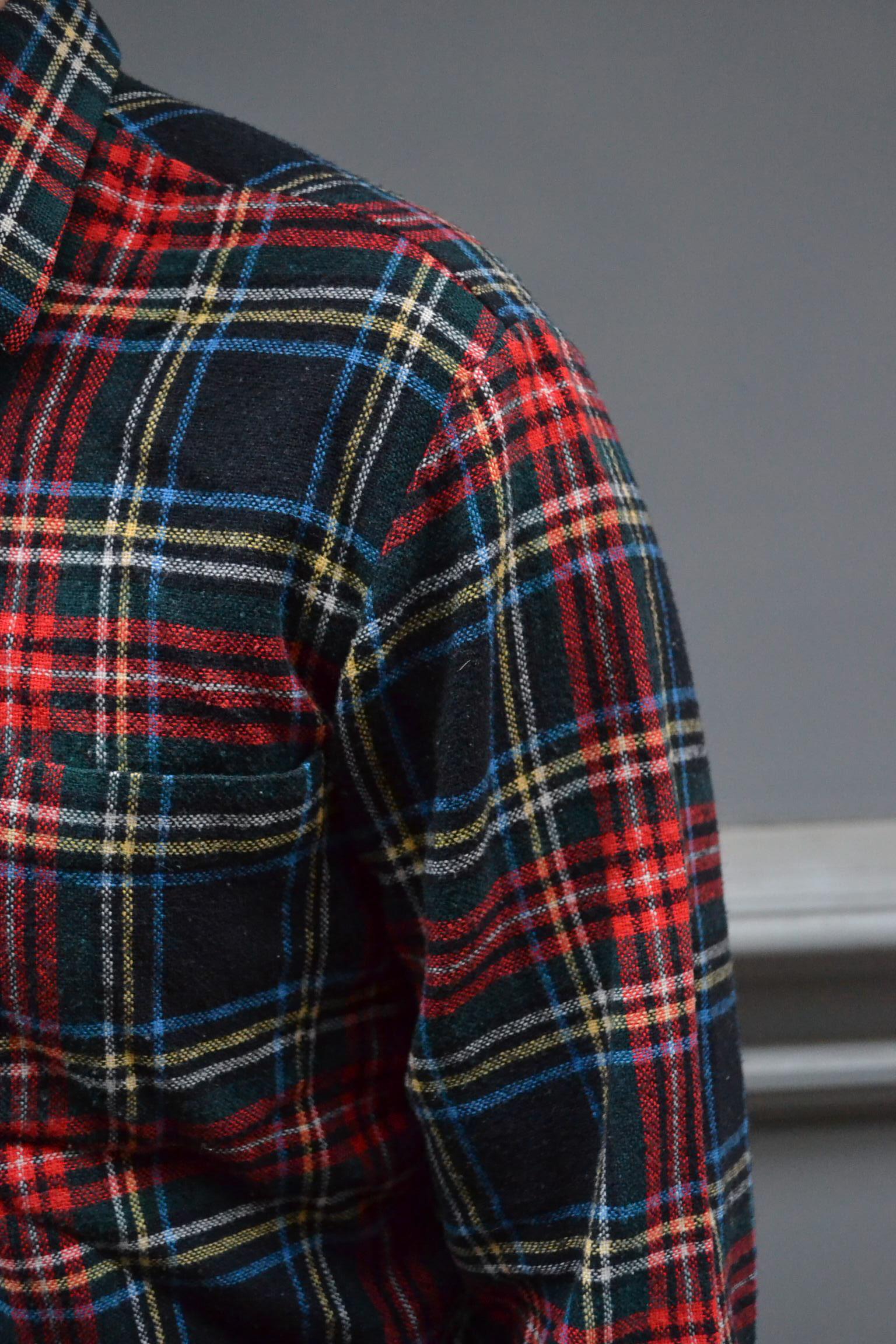 Chemise à carreaux vintage 60's TM