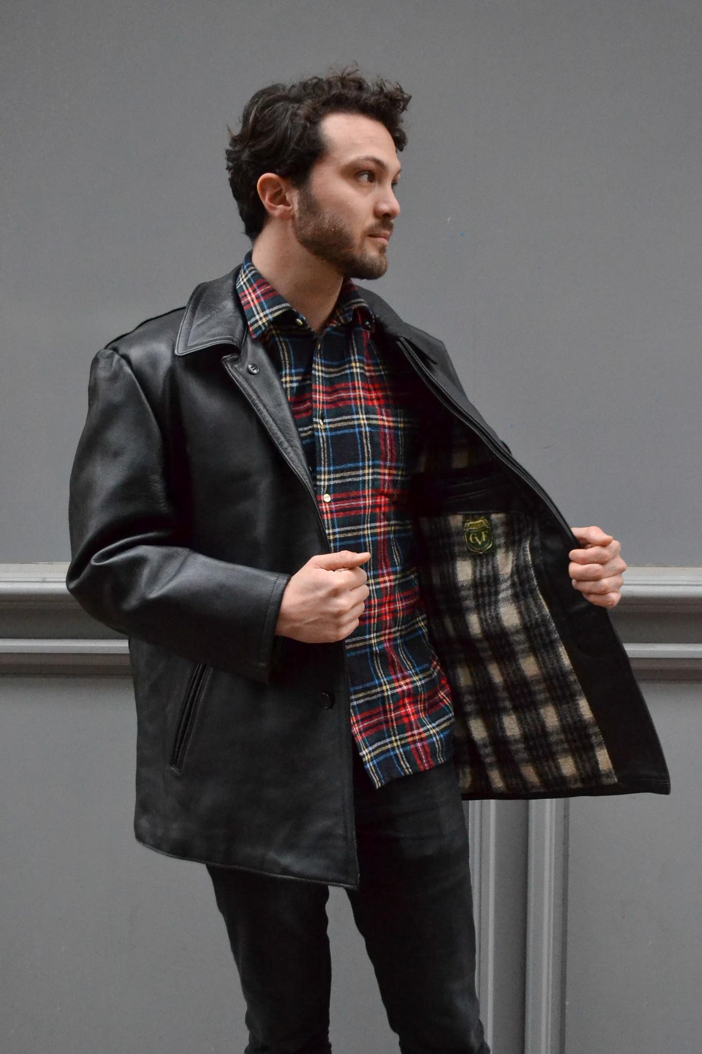 veste vintage 60's cuir