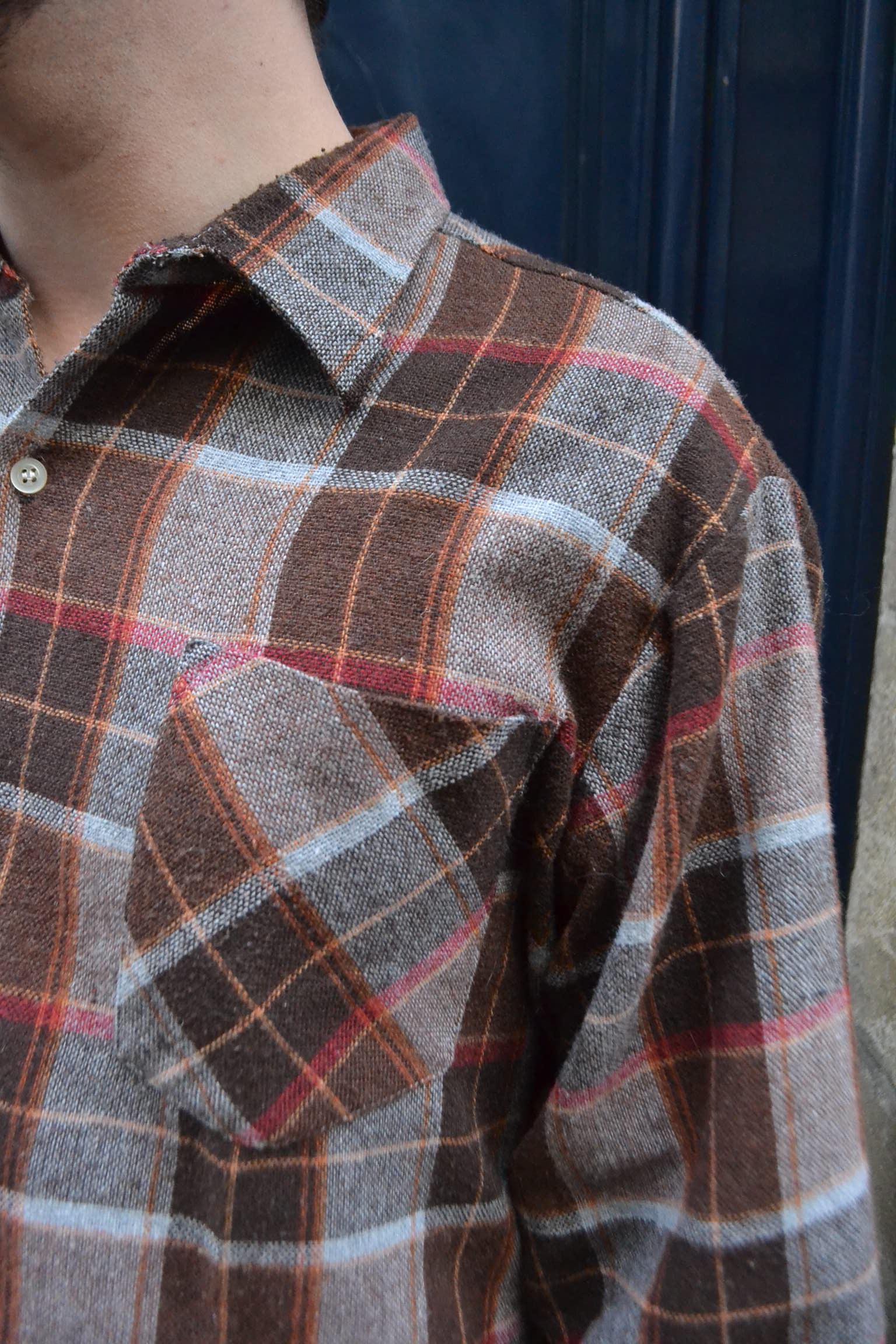 Chemise bucheron à carreaux TL