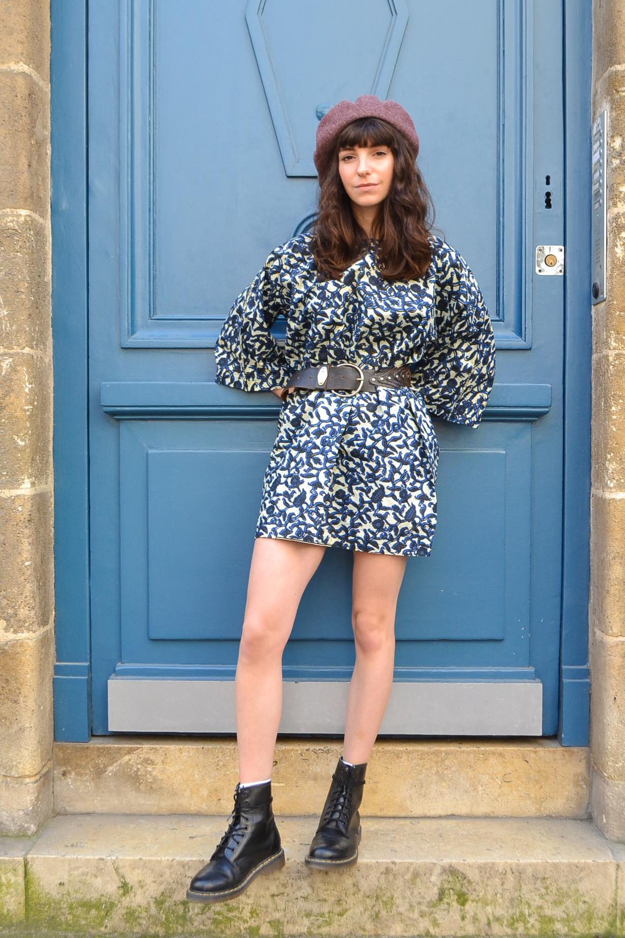 robe wax blue madone