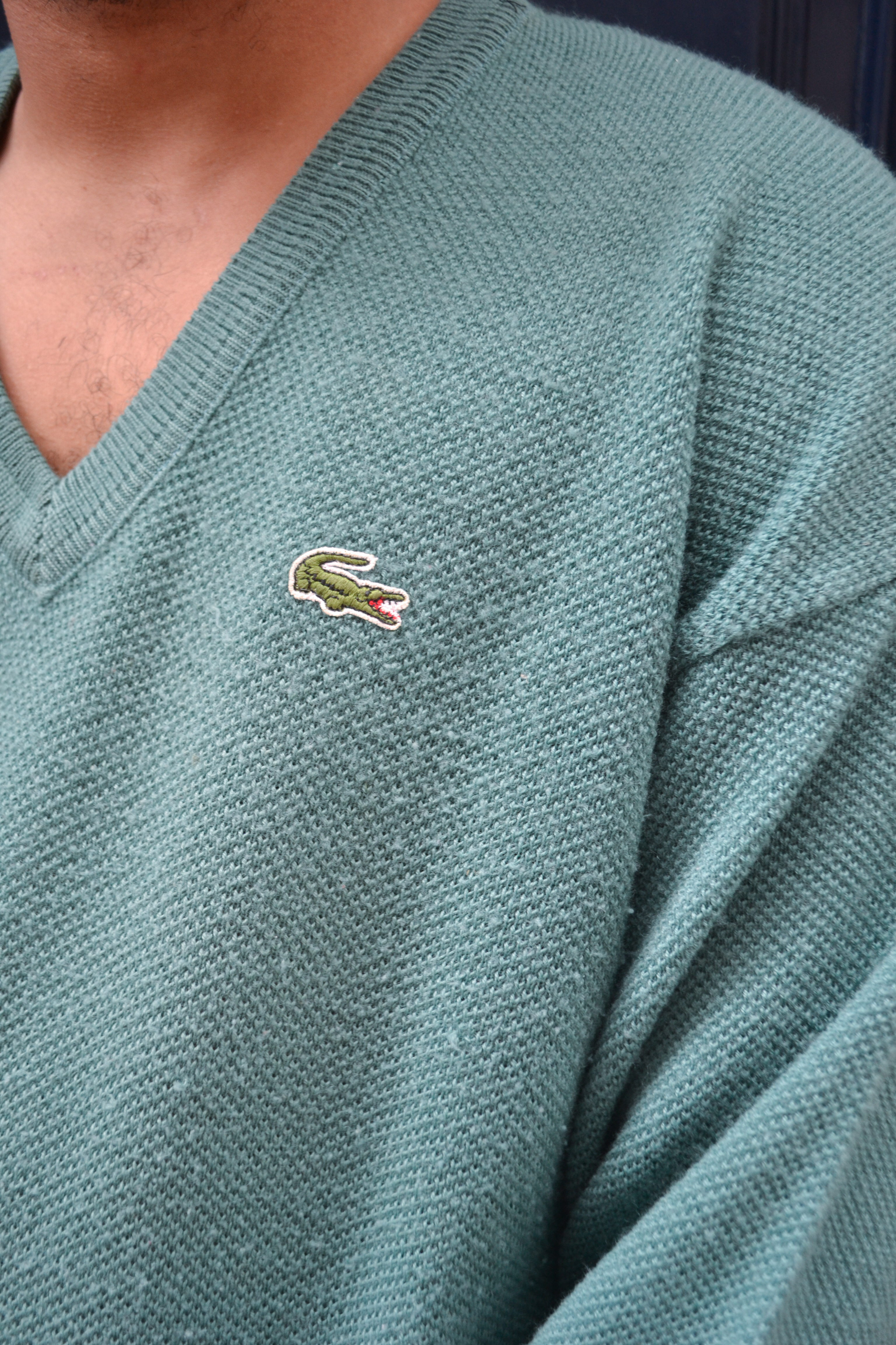 Pull Lacoste vintage 90's - TL blue madone